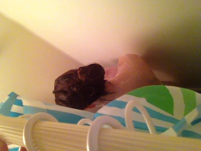 11(11日目)上からシャワー中の彼女を覗き見 シャワー  50pic 6